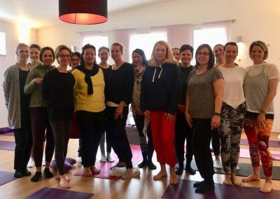 Die Yoga & Detox Teilnehmer