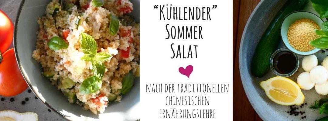 Blog | Kühlender Sommer Salat von der GärtnerIN